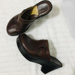 Born Leather Mules Clogs